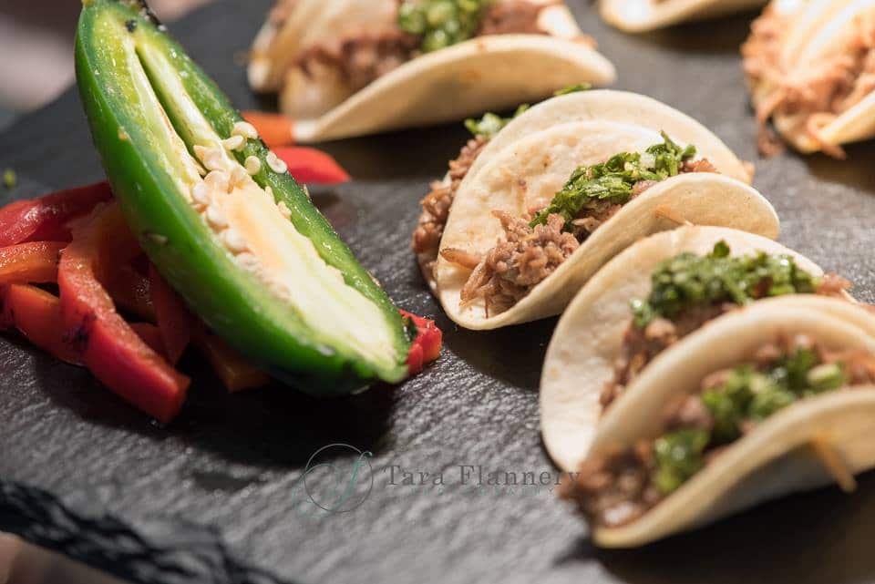 taco station -mini taco appetizers