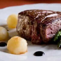 catered steak fine dining catering