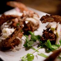 shrimp plate wedding appetizer