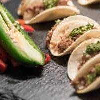 taco station -mini taco appetizers
